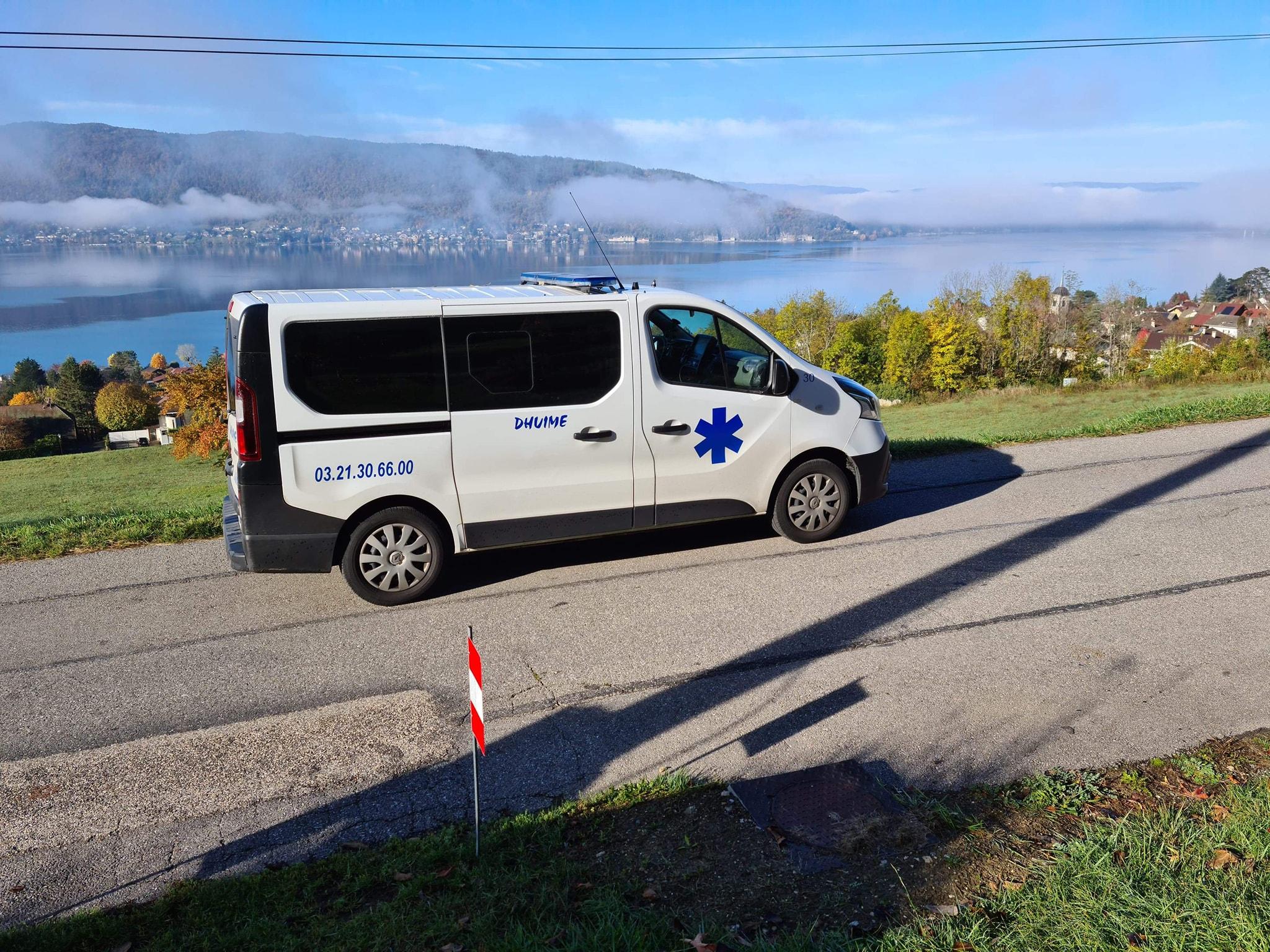 ambulance à Boulogne-sur-Mer
